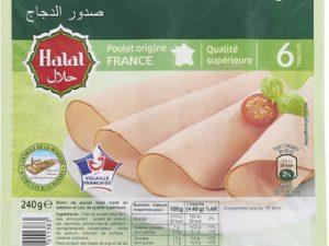 Sliced Halal Chicken Breasts
