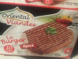 Frozen Halal Meat