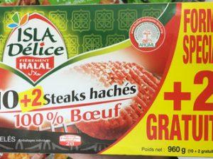 Frozen Halal Steaks