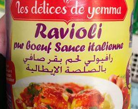 Stuffed Halal Ravioli
